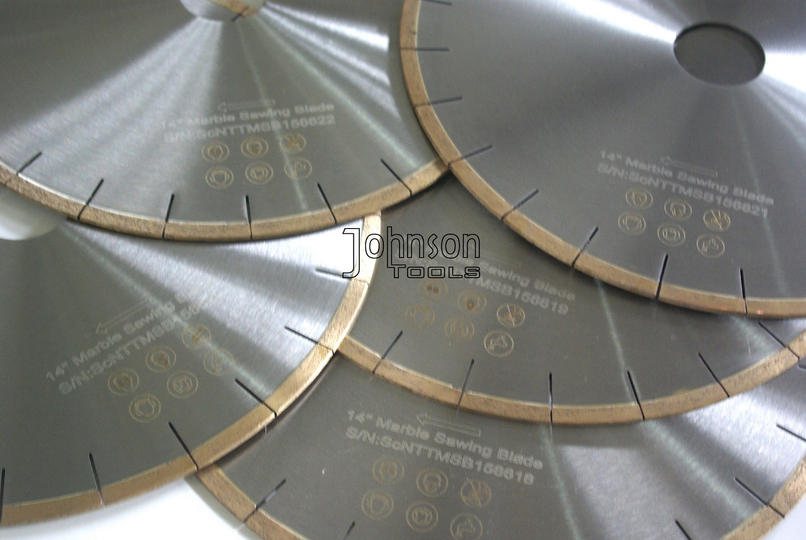 350mm Silver Brazed Diamond Marble Cutting Blades for Various Marble