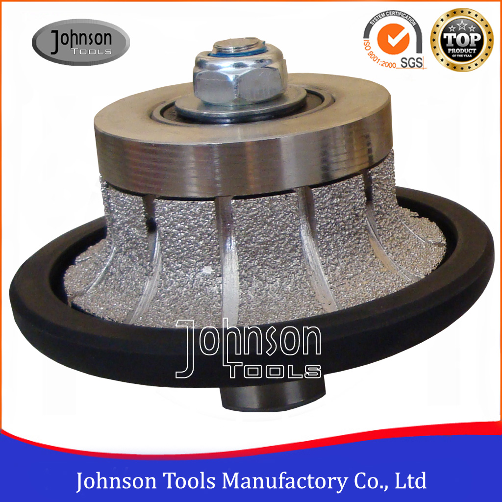 Special Edge Type Vacuum Brazed Diamond Profile Wheels