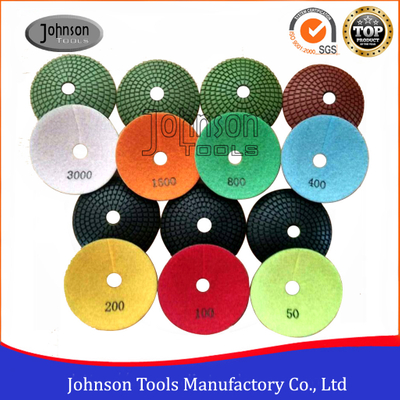100mm Convex Diamond Grinding Pads