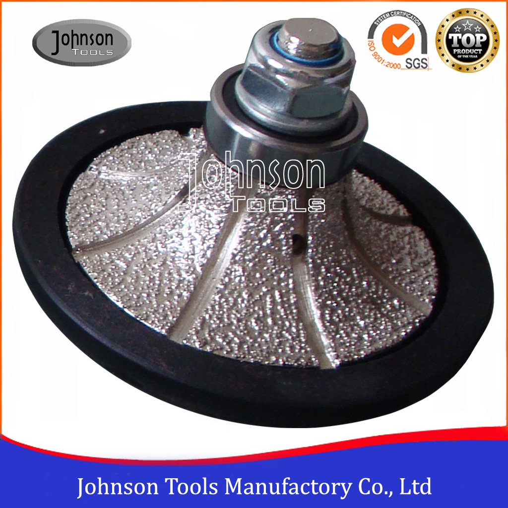 Half Bullnose Diamond Grinding Wheels for Granite and Marble Edging