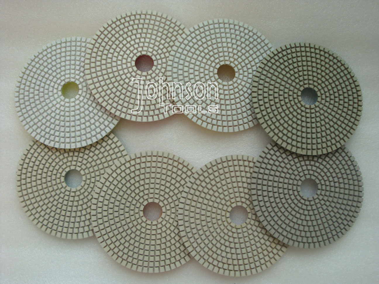 5 Inch White Wet Polishing Pads