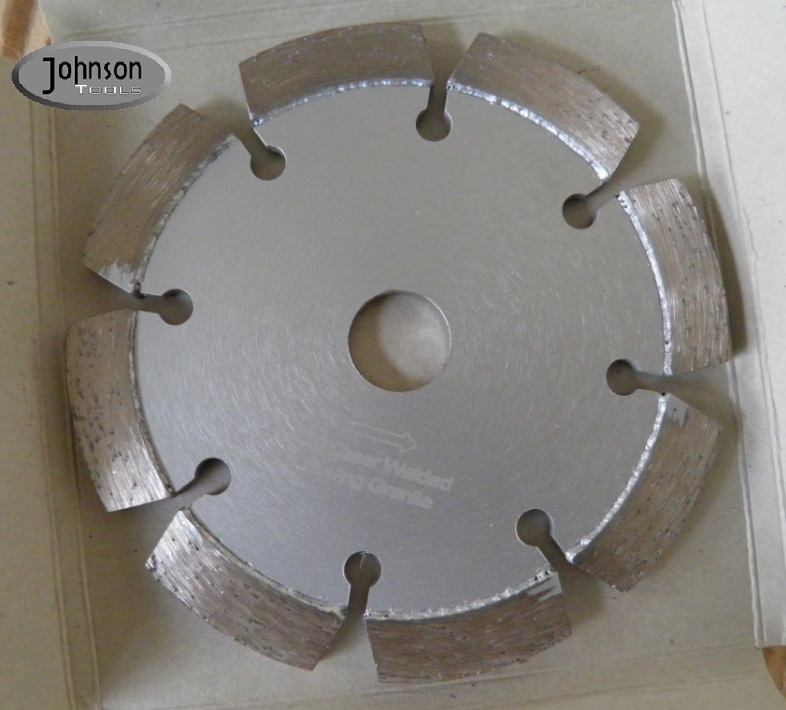 105mm Tuck Point Diamond Blades With Decoration Hole Silver color