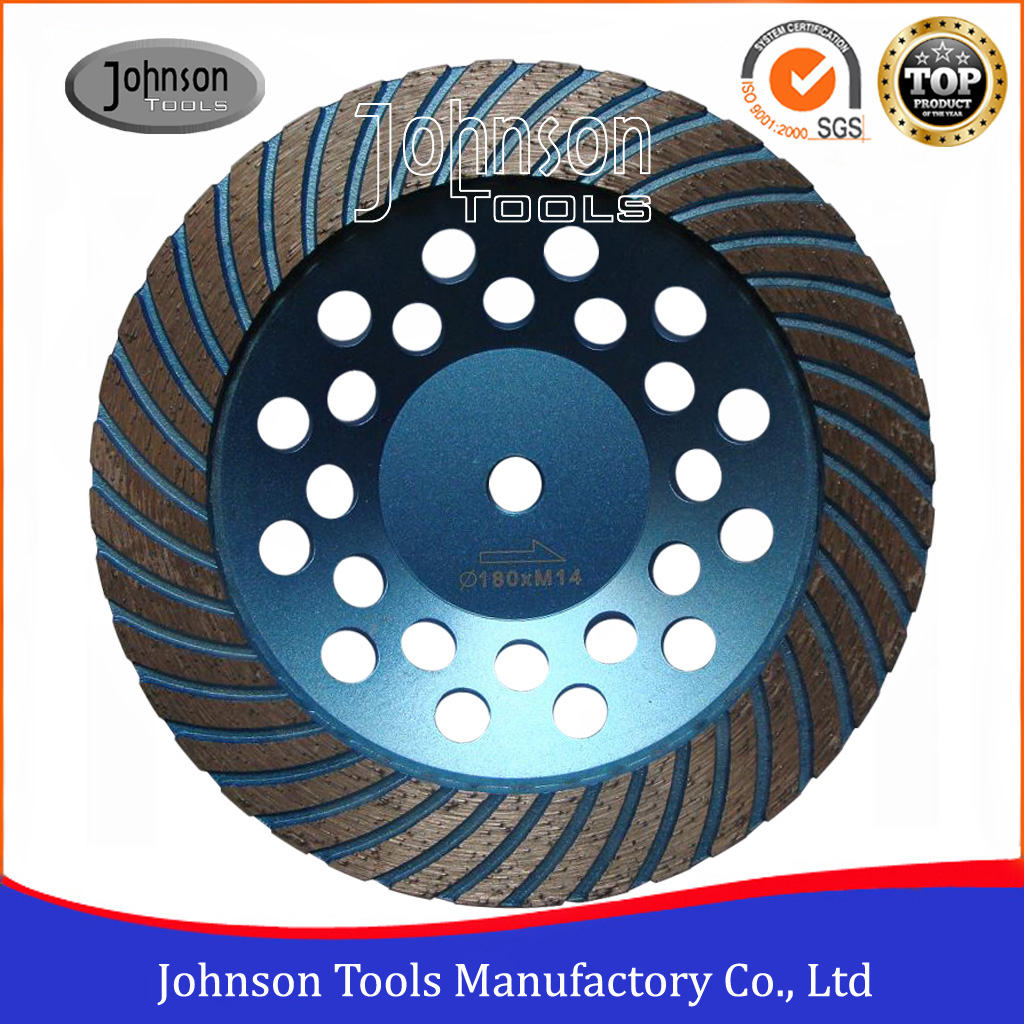 OD180mm Turbo Diamond Cup Wheel for Stone