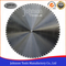"24""-64"" Laser Welded Diamond Blade for Wall Saw Concrete Cutting"