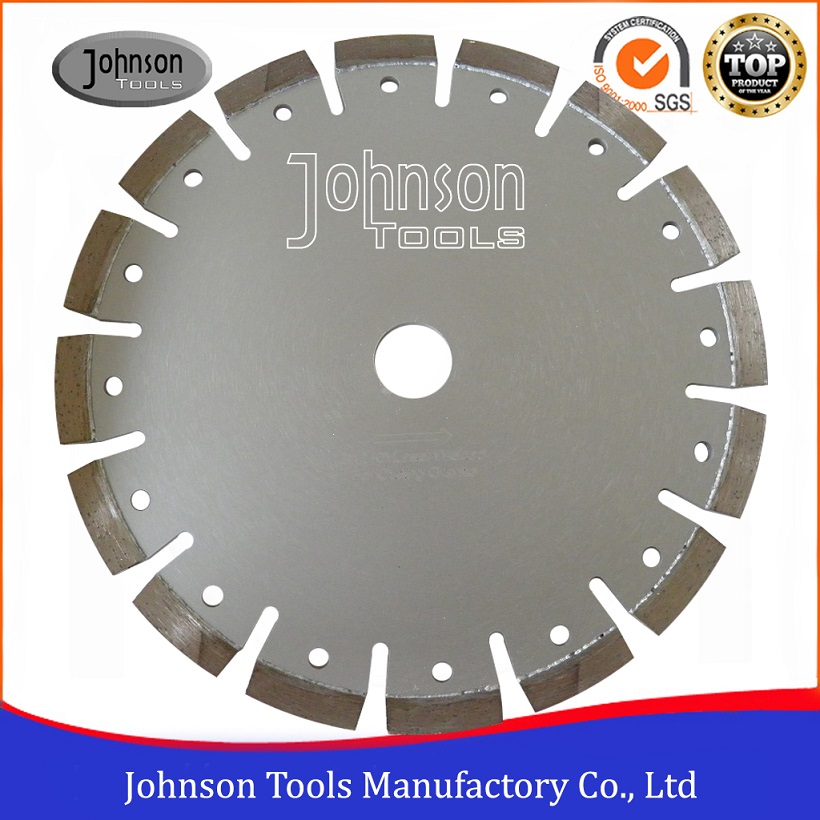 210mm Normal Segment Laser Welded Diamond Tuck Point Blade to India