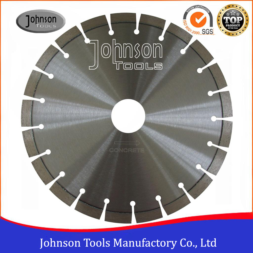 350mm Laser Welded Diamond Concrete Saw Blade for Cutting Cured Concrete