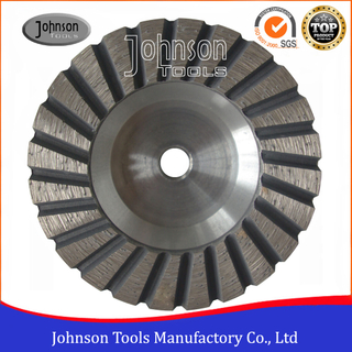 100mm Turbo Cup Wheel With Aluminium Core for Stone Grinding