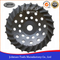 180mm Diamond Swirl Cup Wheel Cup Wheel for Stone and Concrete