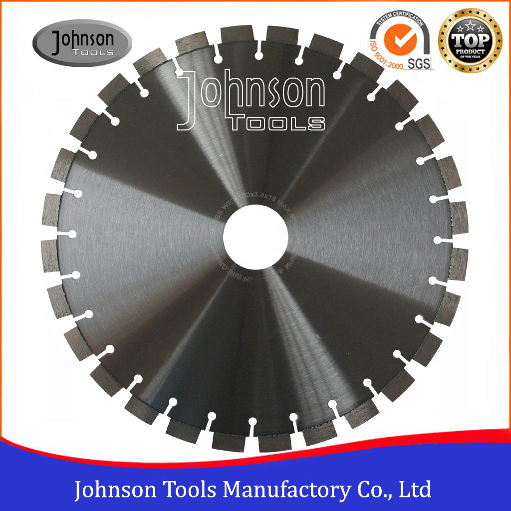 400mm Laser Welded Diamond Granite Saw Blades for Stone Cutting