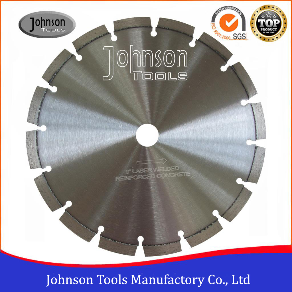 "4""-24"" Laser Welded Concrete Saw Blades for Reinforced Concrete Cutting"